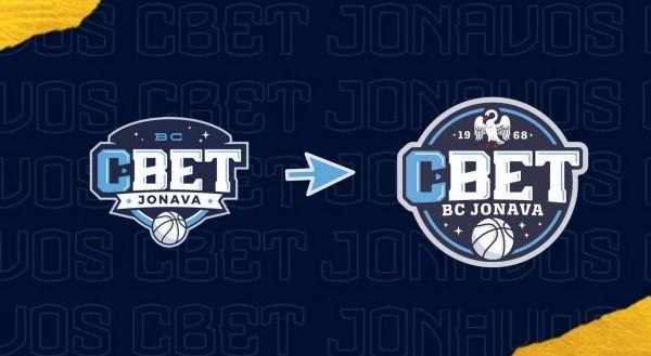 Jonavos CBet logotipo pristatymas