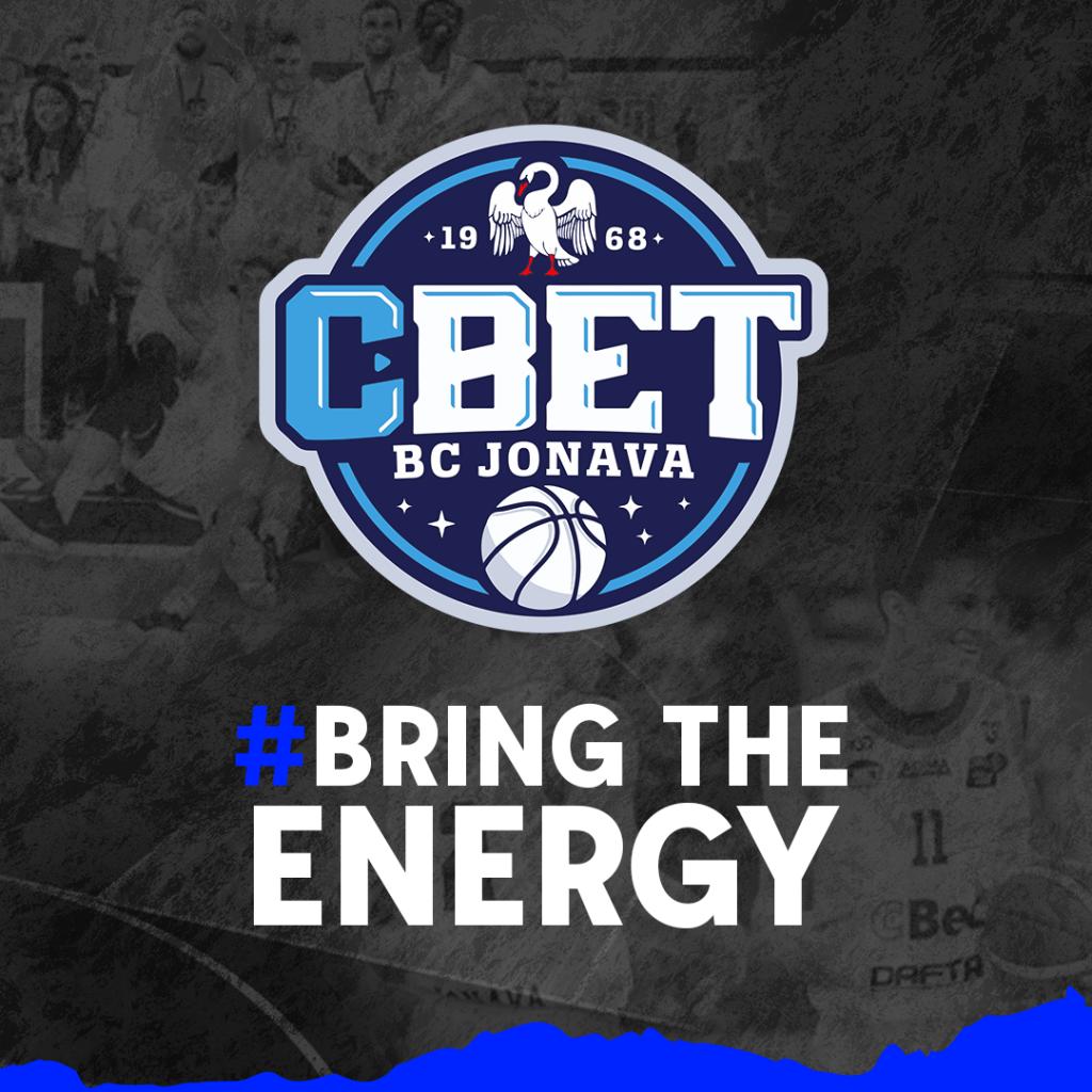 """""""Bring the Energy"""" – naujasis Jonavos """"CBet"""" šūkis 2021/2022 m. sezone"""